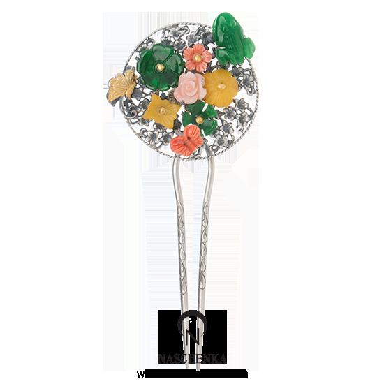 [나스첸카] 조선의 꽃 _ 산호 뒤꽂이